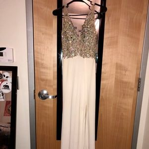 Jovani backless prom dress BEAUTIFUL